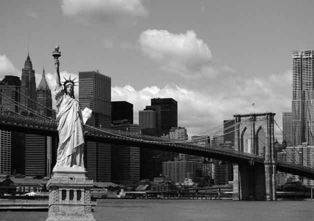 FTS 1300 Fotomural Estatua New York